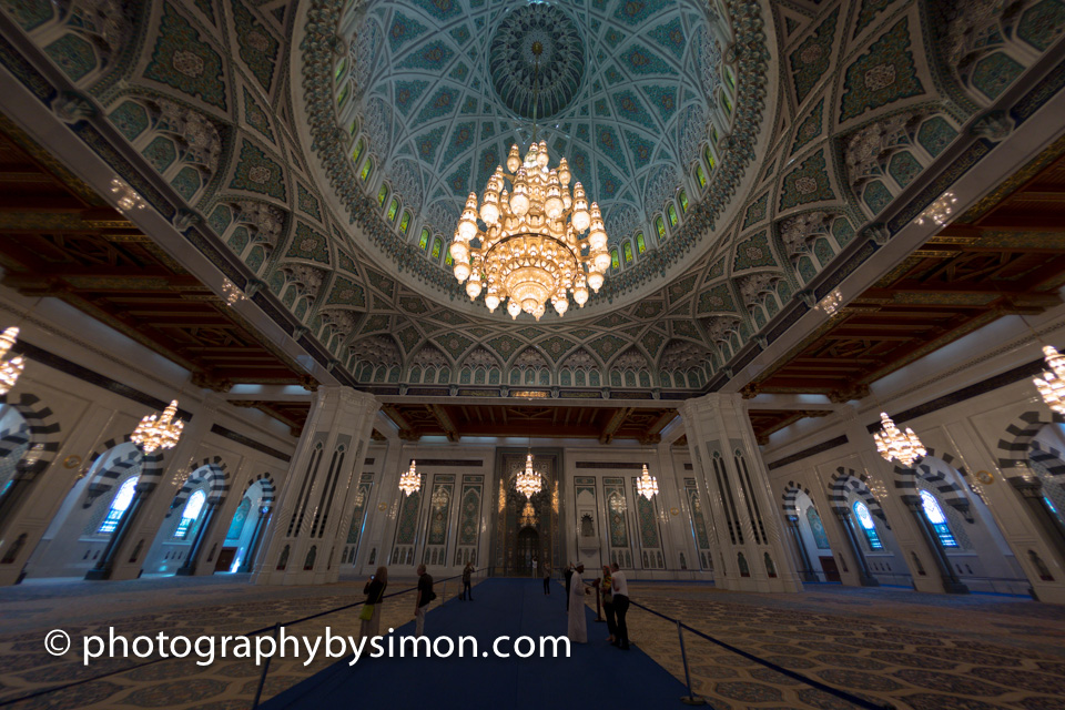 The Sultan Qaboos Grand Mosque Muscat Oman Photography